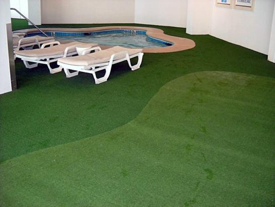 Artificial Grass Photos: Artificial Grass Installation Warm Mineral Springs, Florida Lawns, Pool Designs