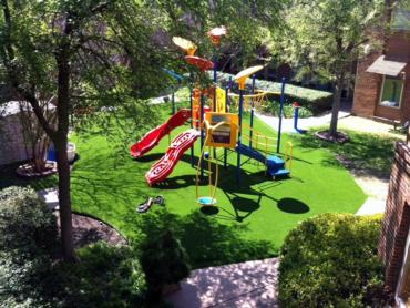 Fake Grass Naples Manor, Florida Athletic Playground, Commercial Landscape artificial grass