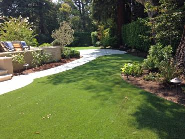 Artificial Grass Photos: Grass Installation Vero Beach, Florida Design Ideas, Small Backyard Ideas