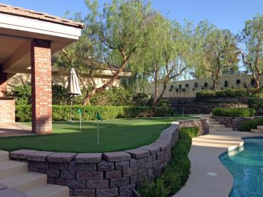 Artificial Grass Photos: Synthetic Turf Supplier Palm Beach Gardens, Florida Backyard Putting Green, Backyards