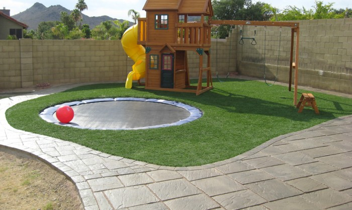 Artificial Grass for Playgrounds in Florida